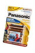 Panasonic Alkaline Power LR6APB/4BPS RU Spider-Man LR6 + наклейка BL4 - Батарейка