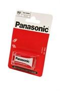 Panasonic Zinc Carbon 6F22RZ/1BP R6F22RZ BL1 - Батарейка