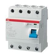 Выключатель дифференциального тока ( УЗО ) 4п 80А 300 мА F20 4 АС