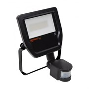 FLOODLIGHT LED    SENSOR  20W/3000K BLACK IP65    2 000Лм  LEDV - LED прожектор с сенсором OSRAM