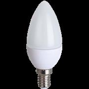 Ecola candle   LED  8,0W 220V E14 2700K свеча (композит) 100x37