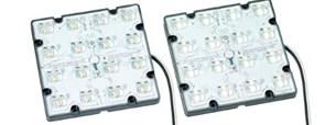 VS WU-M-515-D-730 GEN.3 120x120x16 mm IP67/69 3000K 350/700/1050/1400mА - светодиодный модуль