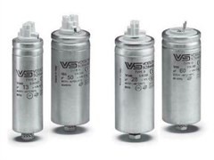 45 µF 250V Конденсатор VS 40X103 B Alu Wago / BJB, M8 + N&W