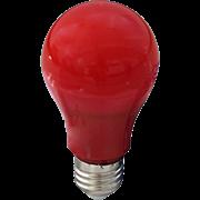 Ecola classic   LED color 12,0W A60 220V E27 Red Красная 360° (композит) 110x60