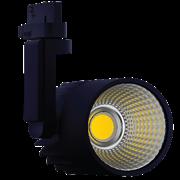 FL-LED LUXSPOT-L 50W  BLACK  3000K 5000Лм 50Вт 220-240В FOTON черный 3-ф трек светильник