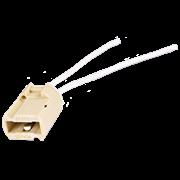 Ecola base G9 патрон керамический с проводами 2*8cm (1 из уп. по  50)