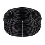 Провод круглый ПВХ 5х0,75мм2 черный (100м) (Salcavi Италия)