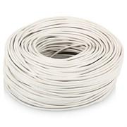 Провод круглый ПВХ 2х0,50мм2 белый (100 м) (Salcavi Италия)