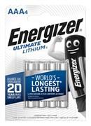 ENERGIZER Ultim  Lith AAA FR03 FSB4 - батарейка 4/48