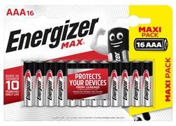 Батарейка ENERGIZER MAX LR03/E92/AAA BL16