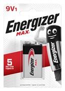 Батарейка ENERGIZER MAX 6LR61/ 522/9V BL1 - (блистер 1шт)