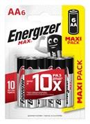 Батарейка ENERGIZER MAX LR06/AA/E91 BL6