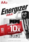 Батарейка ENERGIZER MAX LR6/AA/E91 BL2