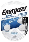 Батарейка ENERGIZER Ultimate Lithium CR2016 BL2