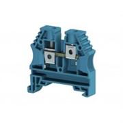 Klemsan, 304151, Клеммник на DIN-рейку 10мм.кв. (синий) АVK-10