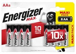 Батарейка ENERGIZER MAX LR6/E91/AA BL8 - штука