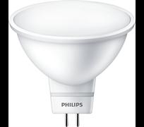 Essential LED MR16 5-50W/827 100-240V  3000K  120D 400lm - лампа PHILIPS