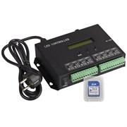 Контроллер HX-803SA DMX (8192 pix, 220V, SD-карта) (ARL, -)