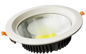 VEGAS-15 15 ватт, 4000К, IP20, Ø145 встраиваемый светодиодный светильник Myled 165x53 мм