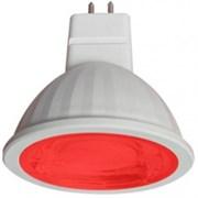 Лампа светодиодная Ecola GU5.3 MR16 color 9W Красный