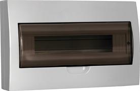 Щит распределительный навесной ЩРн-П-18 IP41 пластиковый прозрачная дверь