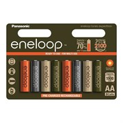 Panasonic eneloop BK-3MCCE/8EE EXPEDITION COLORS 1900мАч AA BL8