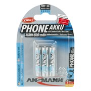 ANSMANN PHONE 5030142 800 AAA BL3- Аккумулятор