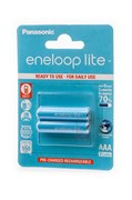 Panasonic eneloop lite BK-4LCCE/2BE 550мАч AAA BL2- Аккумулятор