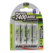 ANSMANN PHOTO 5030482 2400 AA  BL4 - Аккумулятор
