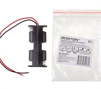 ROBITON Bh2xAA с двумя проводами PK1 - Отсек для аккумулятора