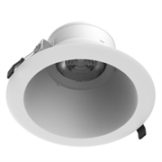 """Светодиодный светильник """"ВАРТОН"""" DL-Lens Comfort встраиваемый 28W 4000К 172х98 мм IP20 угол 35 градусов белый"""