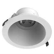 """Светодиодный светильник """"ВАРТОН"""" DL-Lens Comfort встраиваемый 36W 3000К 230х128 мм IP20 угол 35 градусов белый"""