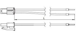 Соединительный элемент для LED профилей 200mm  - пр. VS(Германия)