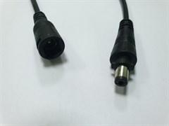 Комплект разъемов штырьковых папа-мама для адаптера с кабелем 15см