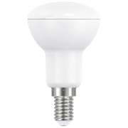 Ecola Reflector R50   LED Premium  9,0W  220V E14 2800K (композит) 87x50