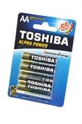 TOSHIBA ALPHA POWER LR6GCH BP-4 SS LR6 BL4 - Батарейка