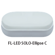 FL-LED SOLO-Ellipse С 12W 4200K овальный IP65  1080Лм 12Вт 165*80*50мм
