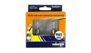 98655 Набор(2 шт.)  TWIN SET  HB3 12V 60W CONTRAST + NARVA - лампа