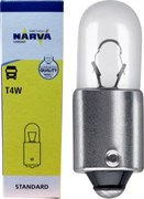 нет 17141 T4W 24V 4W  BA9s NARVA - лампа