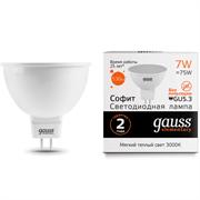 Лампа Gauss LED Elementary MR16 GU5.3 7W 570lm 6500K 1/10/100