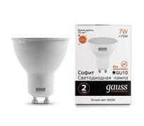 Лампа Gauss LED Elementary MR16 GU10 7W 550lm 4100К 1/10/100