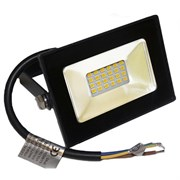 FL-LED Light-PAD   10W Plastic Black  2700К  850Лм 10Вт  AC220-240В 108x80x25мм   113г - Прожектор