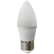 Ecola candle   LED Premium 10,0W 220V E27 4000K свеча (композит) 100x37