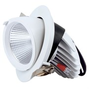 FL-LED DLC 20W 4200K D135xd115x100 20W 1800Lm встраиваемый поворотный круглый
