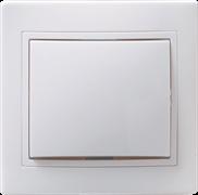 ВС10-1-0-КБ Выключатель 1кл 10А КВАРТА (белый)