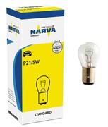 17916 P21/5W 12V  21/5W  BAY15d  NARVA- лампа