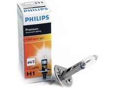 12258 PR   Н1  12V 55W  P14,5s +30%  PHILIPS - лампа
