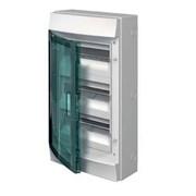 Бокс настенный 36М прозрачная дверь (3 ряда) Mistral65 (с клемм) (1SLM006501A1206) ABB