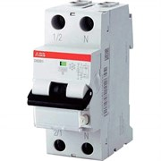 Выключатель автоматический дифференциальный 1п 16А 30мА DS201 C A (DS201 C16 A30)