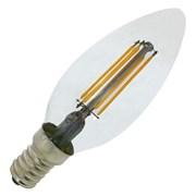 LED SCL B75 6W/827   230V CL    FIL E14  850lm FS1  OSRAM - свеча FILLED OSRAM